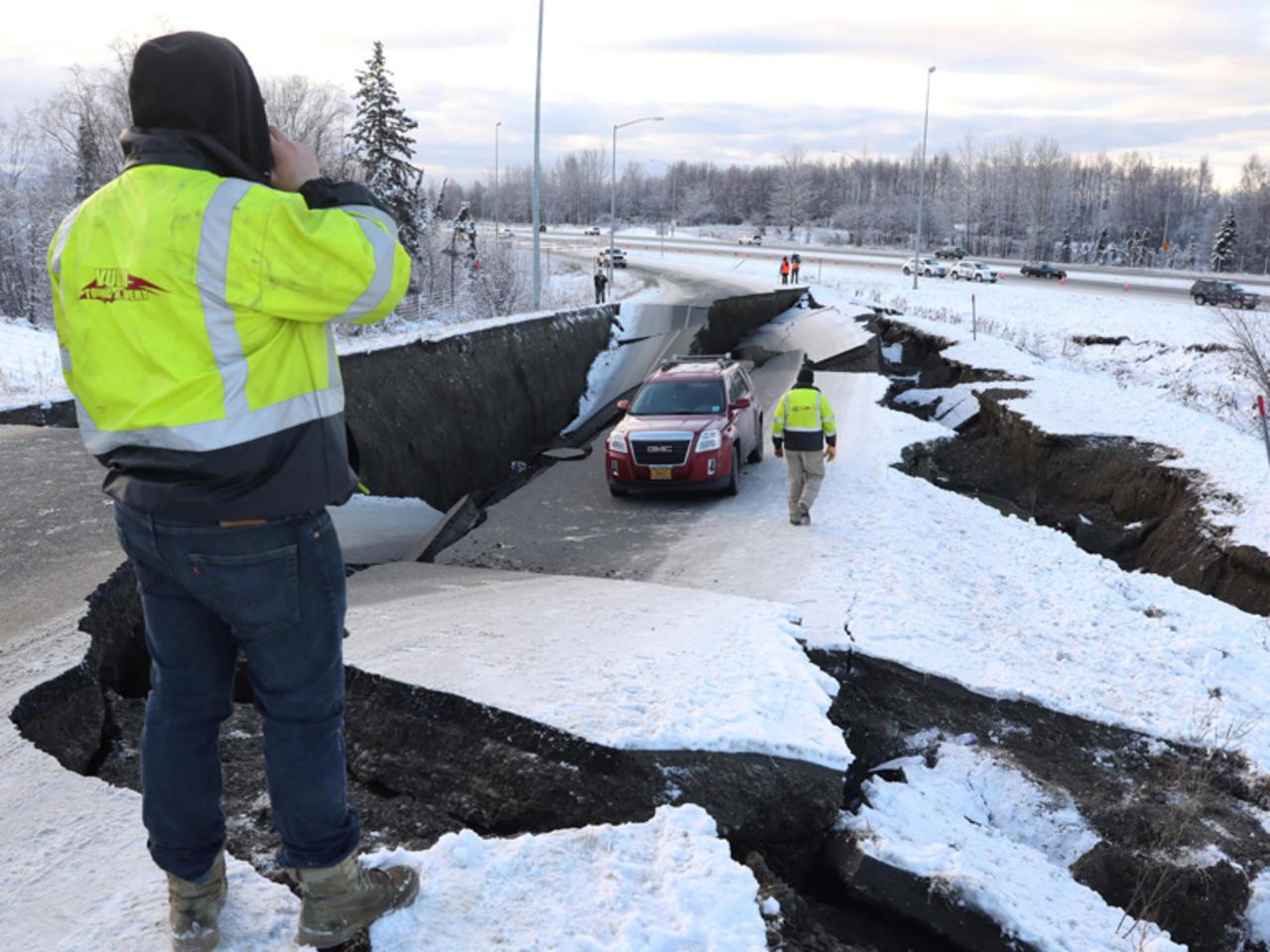 #VIDEO Terremoto de 8.2 en Alaska provoca evacuaciones por posible llegada de un tsunami
