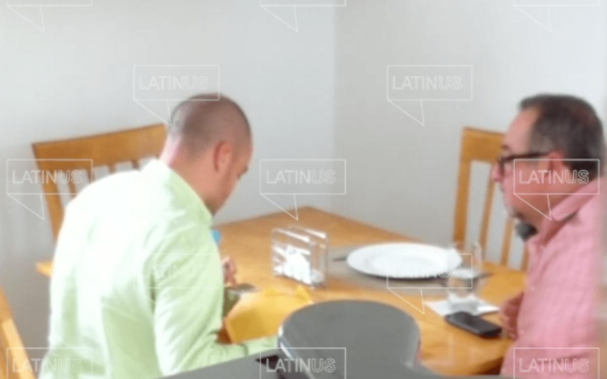 VIDEO: ¡Con las manos en la masa! Hermano de AMLO es captado recibiendo dinero de David León