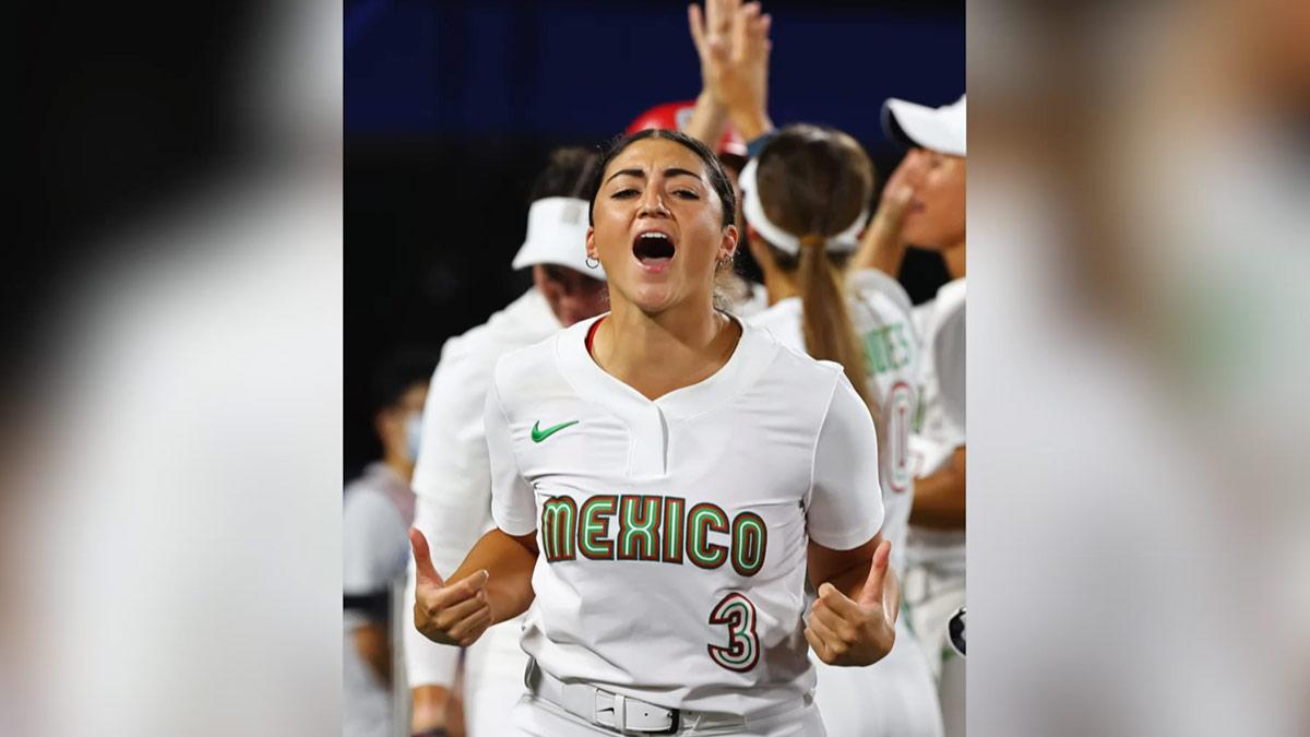 Vence México a Australia en softbol femenil 4-1 buscará la medalla de bronce