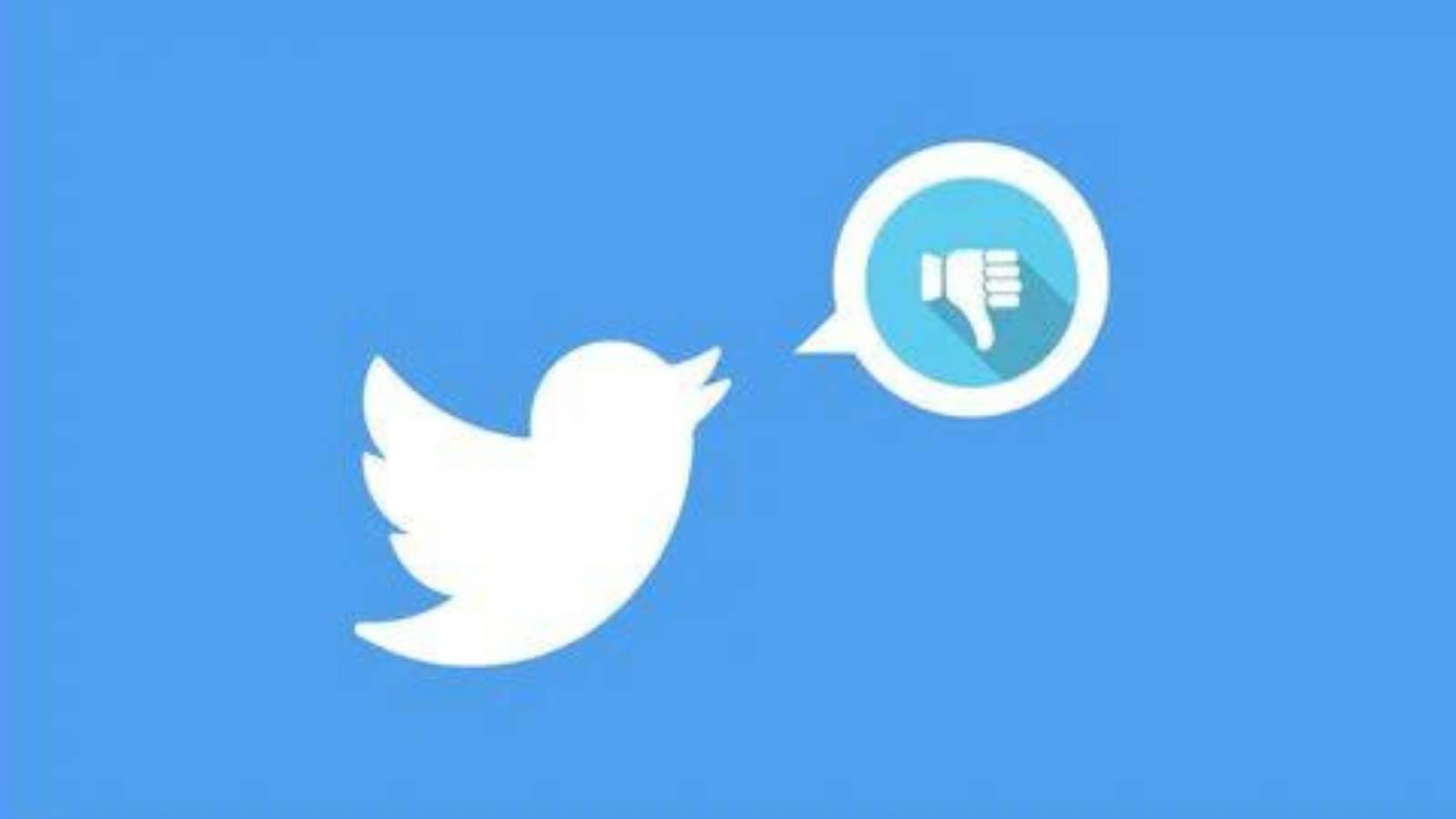 """Twitter crea el botón """"no me gusta"""" para reaccionar a los comentarios ¡Entérate aquí!"""