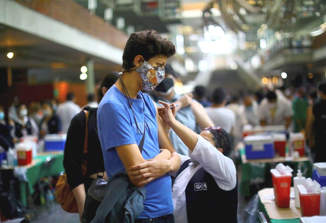 Arrancará la vacunación para la población de 18 a 29 años  en la Ciudad de México