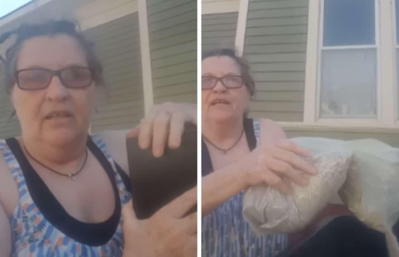"""Por haberla pateado"",mujer tira las cenizas de su marido a la basura"