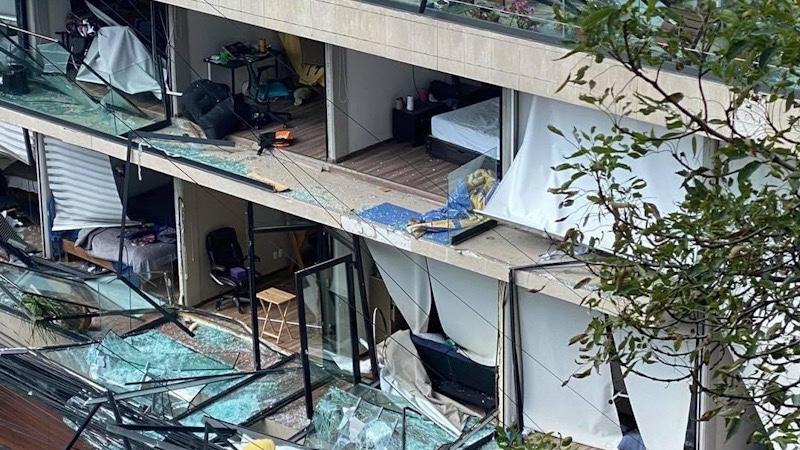 Fuerte explosión destruyó vivienda de la alcaldía Benito Juárez de la CDMX