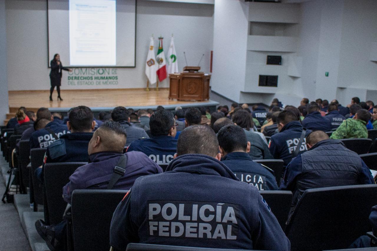 Estándares nacionales e internacionales deben guiar el uso de la fuerza pública el Estado de México CODHEM