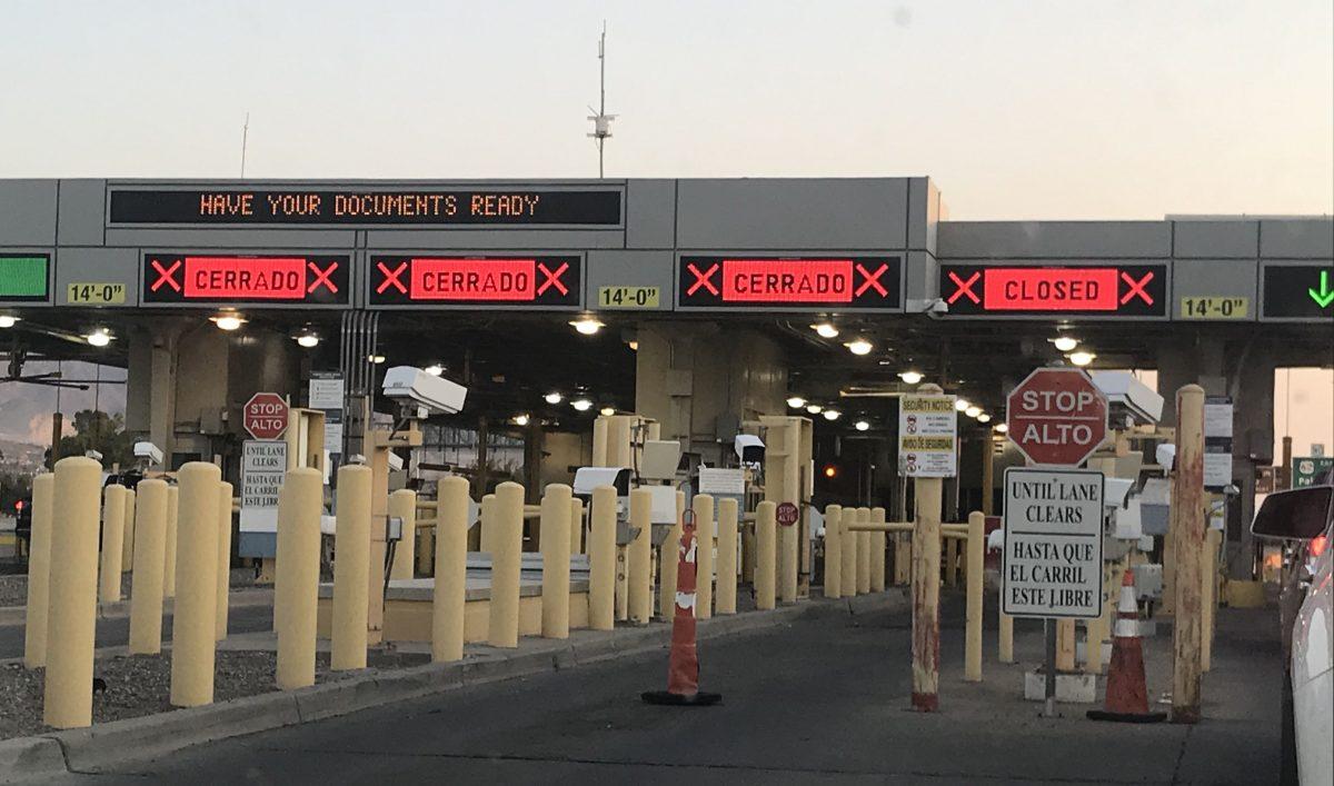 Extiende Estados Unidos restricciones fronteras terrestres con Canadá y México
