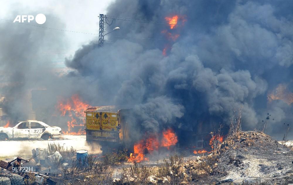 Explota tanque de combustible en Líbano; más de 20 personas murieron