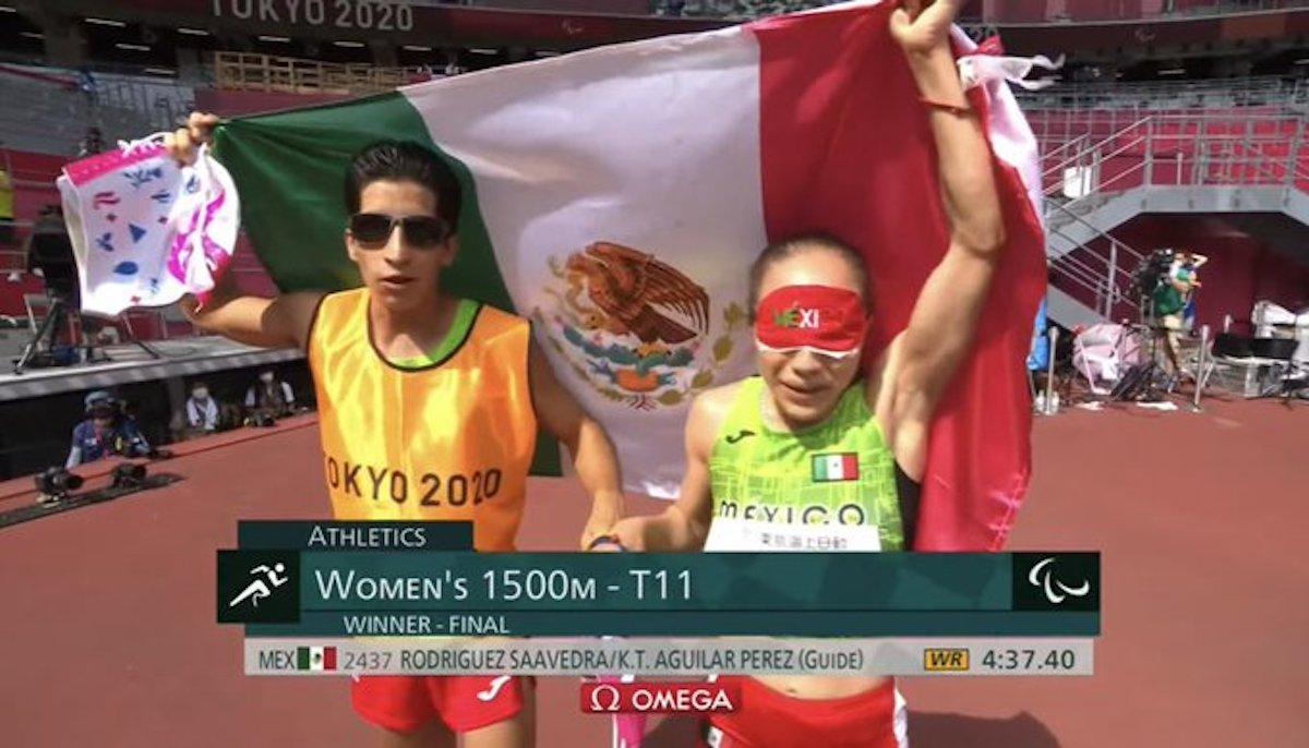 Mónica Olivia gana la medalla de oro en los 1500 metros y rompe el récord