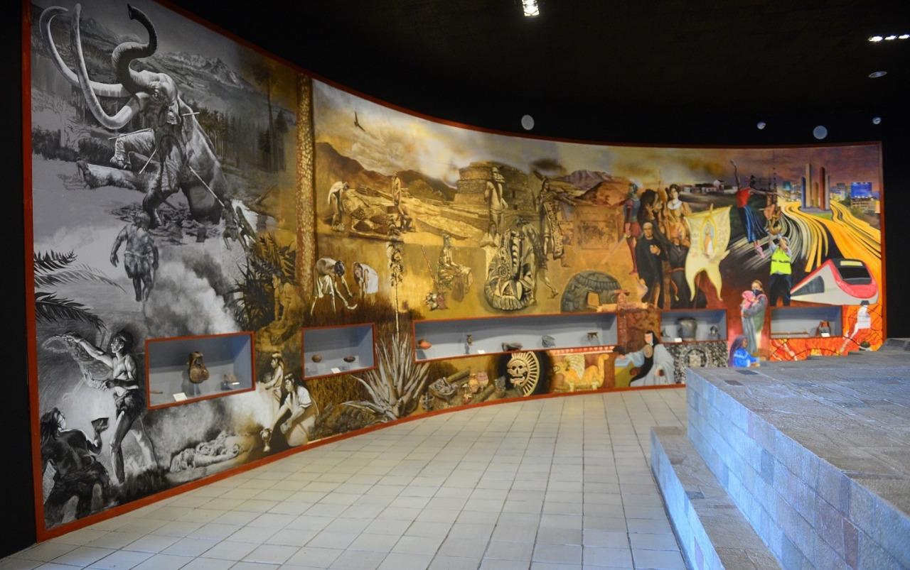 """Continúa abierto al público exposición """"Mamut, el gigante de la prehistoria"""" en el museo de antropología e historia"""