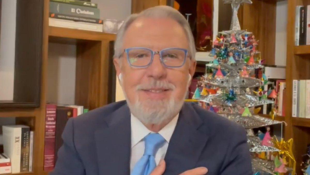 López Dóriga le pide a AMLO respeto tras comentarios sarcásticos del mandatario
