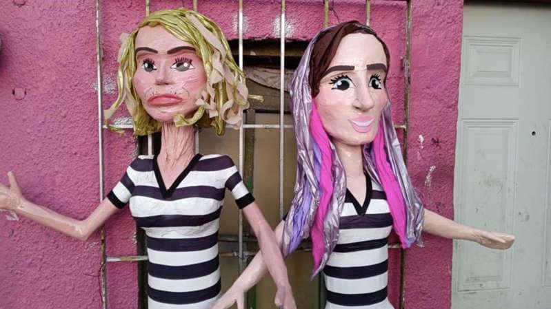 Piñatería causa polémica al hacer piñatas de Laura Bozzo y YosStop