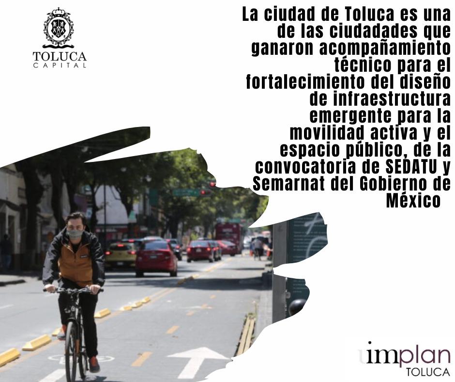 Toluca, entre las 10 ciudades mexicanas ganadoras de RE-ACTIVA.MX