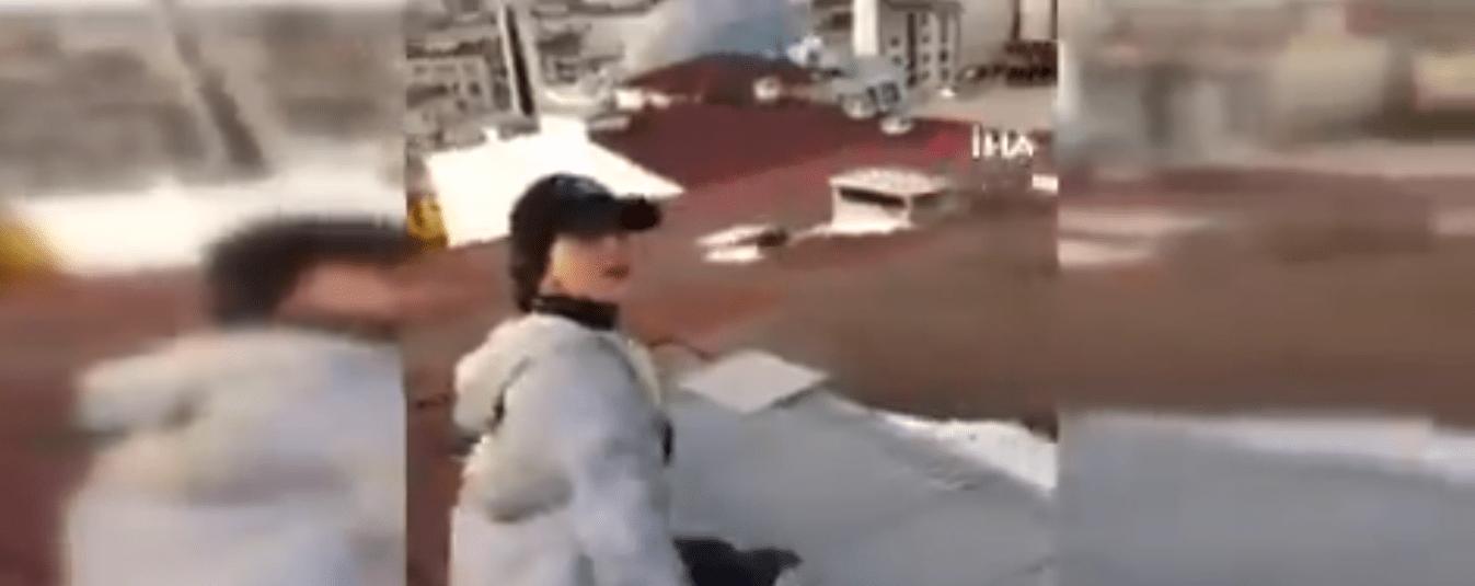 #VIDEO TikToker cae de edificio de nueve pisos mientras era grabada