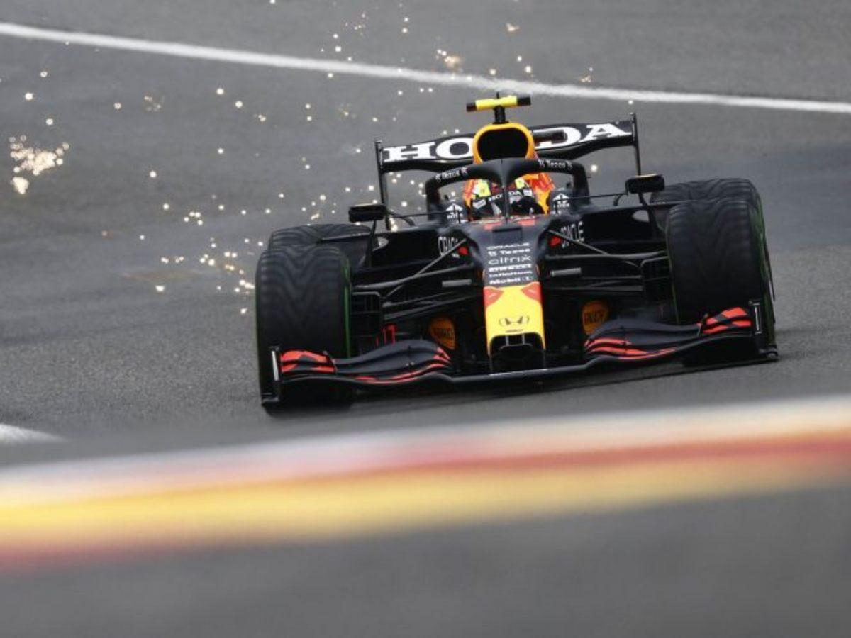 Checo Pérez saldrá en séptima posición en el Gran Premio de Bélgica