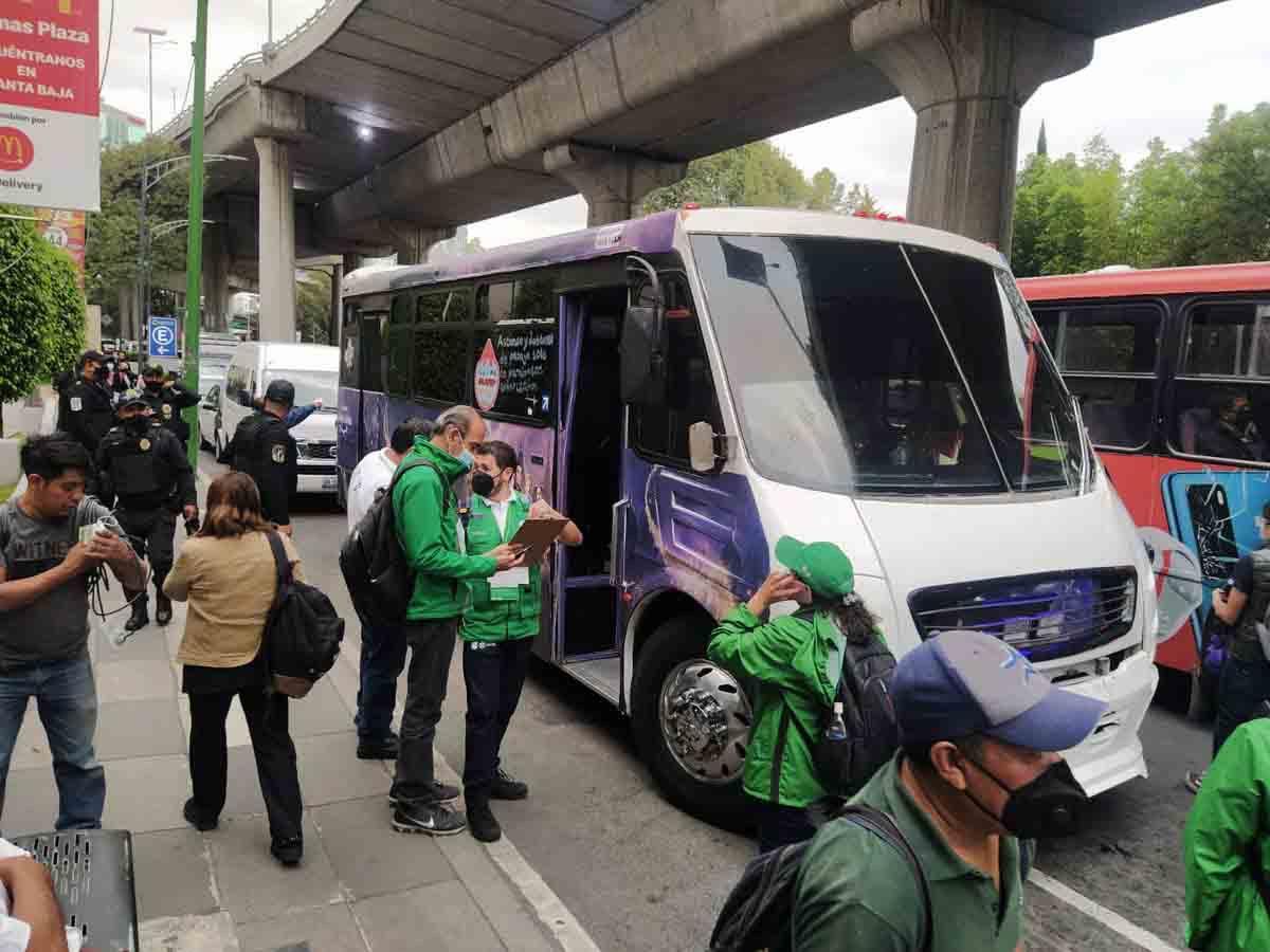 Niegan incremento en transporte público en Edomex