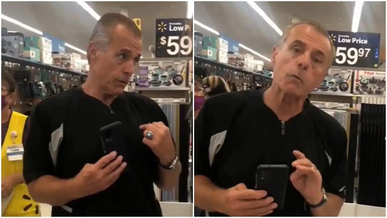 """#Video Hombre grita a empleada en supermercado de EE. UU """"Aprende inglés, no es México"""""""