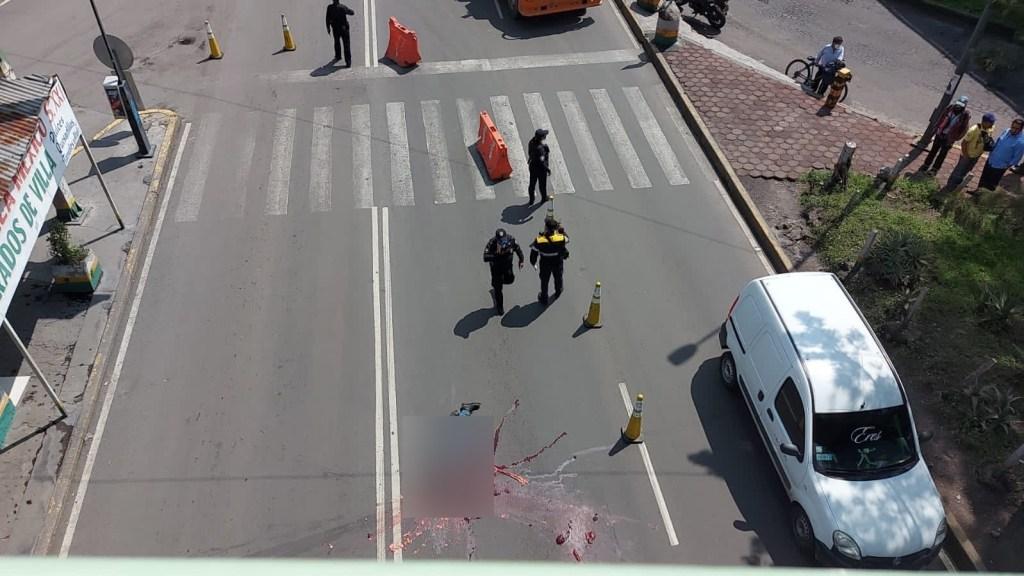 Torton aplasta un joven que intentó cruzar avenida indebidamente