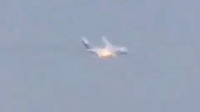Se estrella un avión militar ruso durante un vuelo de prueba