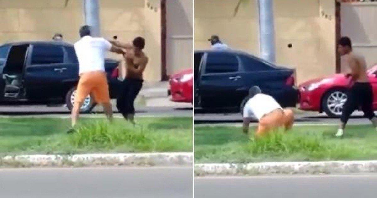 #VIDEO ¡Hay tiro! Conductor y limpiaparabrisas se pelean en plena calle