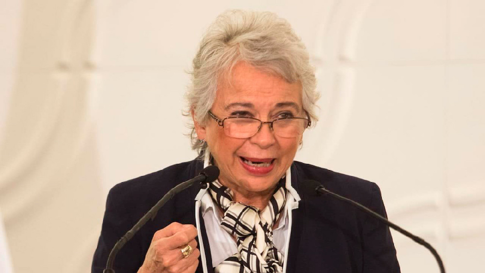Deja Olga Sánchez Cordero la secretaría de Gobernación, vuelve al Senado