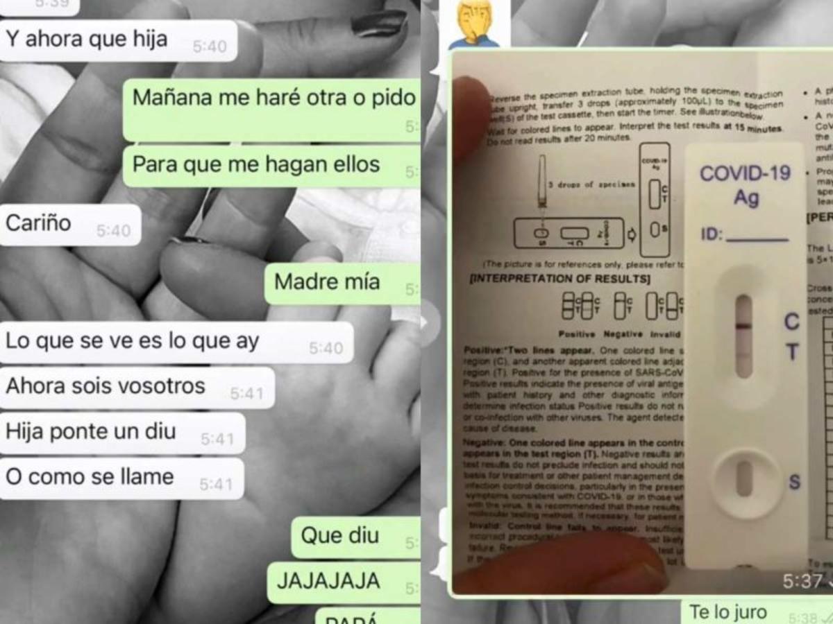 #VIRAL Confunde papá prueba de COVID-19 de su hija con una de embarazo y le pide que se ponga un DIU