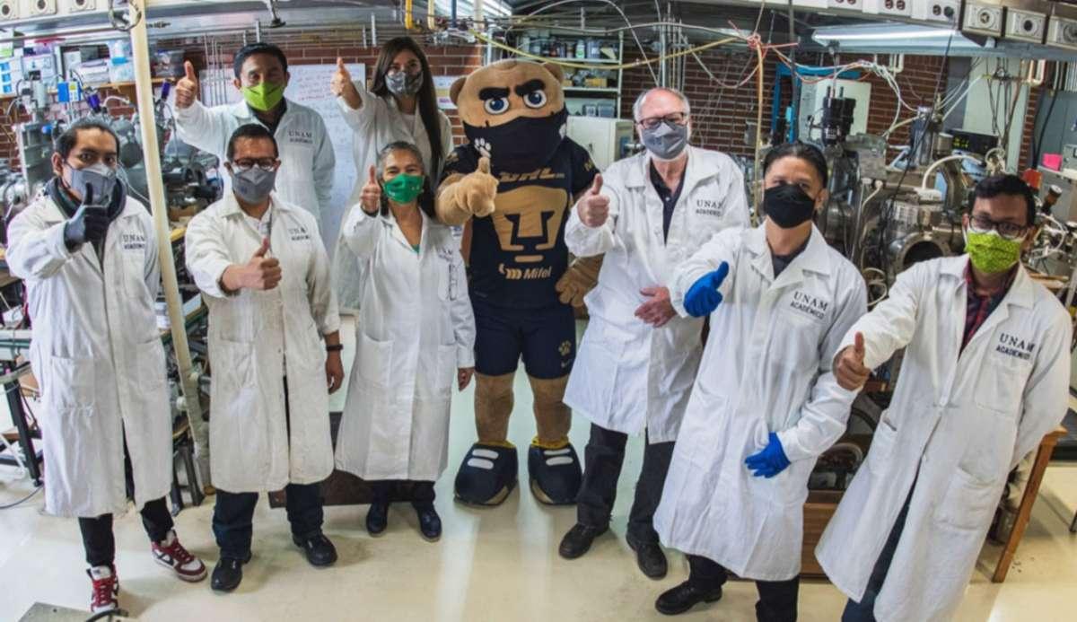 """Científicos de la UNAM crean el """"SakCu"""" un cubrebocas que inactiva el COVID-19"""