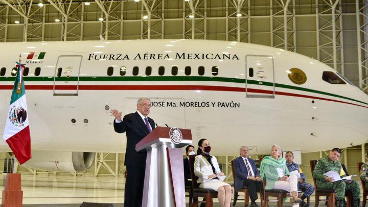 Gobierno gastará 331 millones de pesos en mantenimiento de avión presidencial durante el 2022