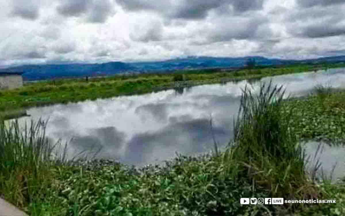 Alertan a la población por posible inundación en el oriente Valle de Toluca
