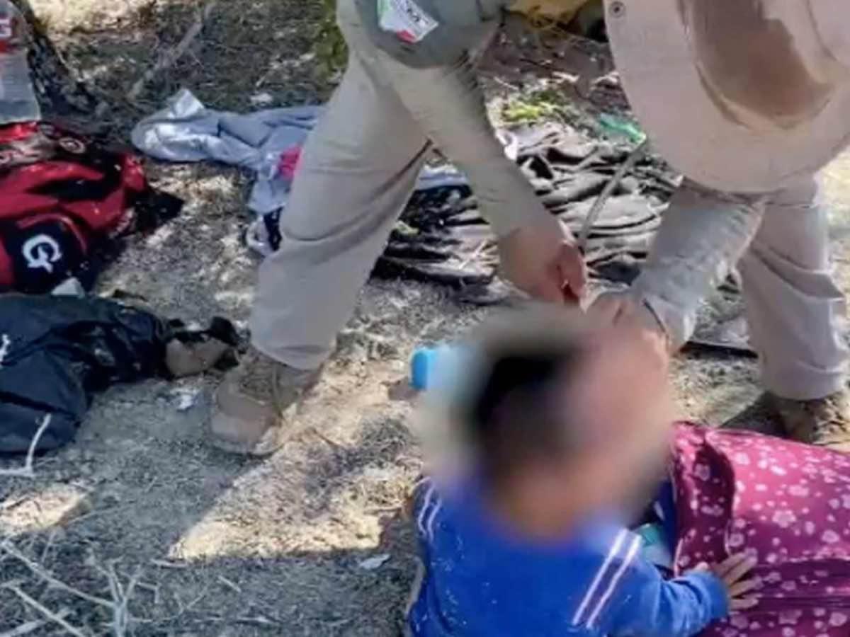 Bebé hondureño es rescatado en Tamaulipas tras ser abandonado