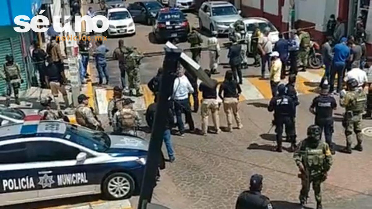 #VIDEO: Balacera en Metepec tras operativo de la FGR