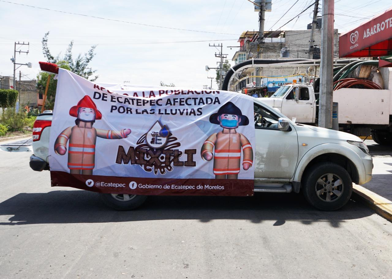 Ecatepec tendrá sistema de alertamiento para proteger a la población de fenómenos meteorológicos