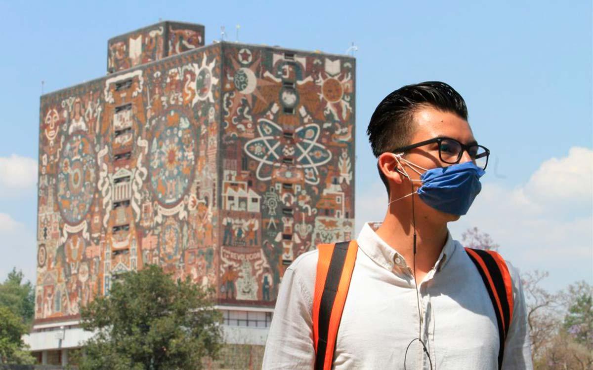 UNAM anuncia que prepara regreso a clases presenciales