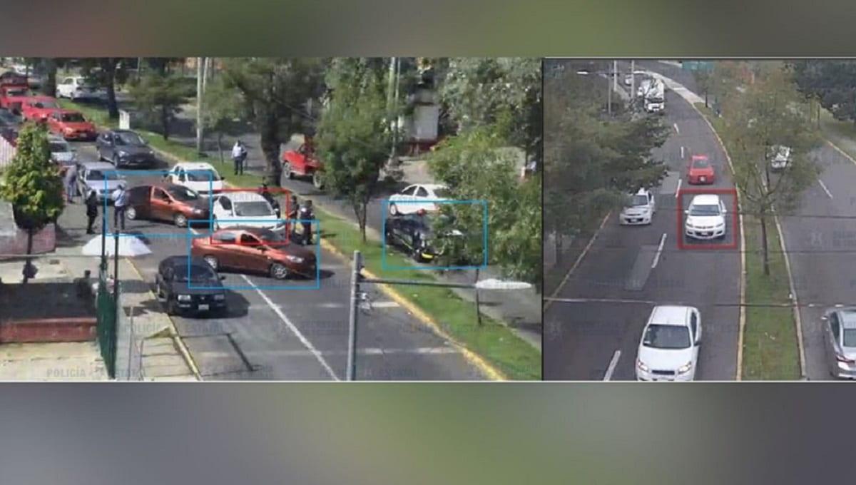 Localizan camioneta desde dónde dispararon a pareja en Almoloya de Juárez