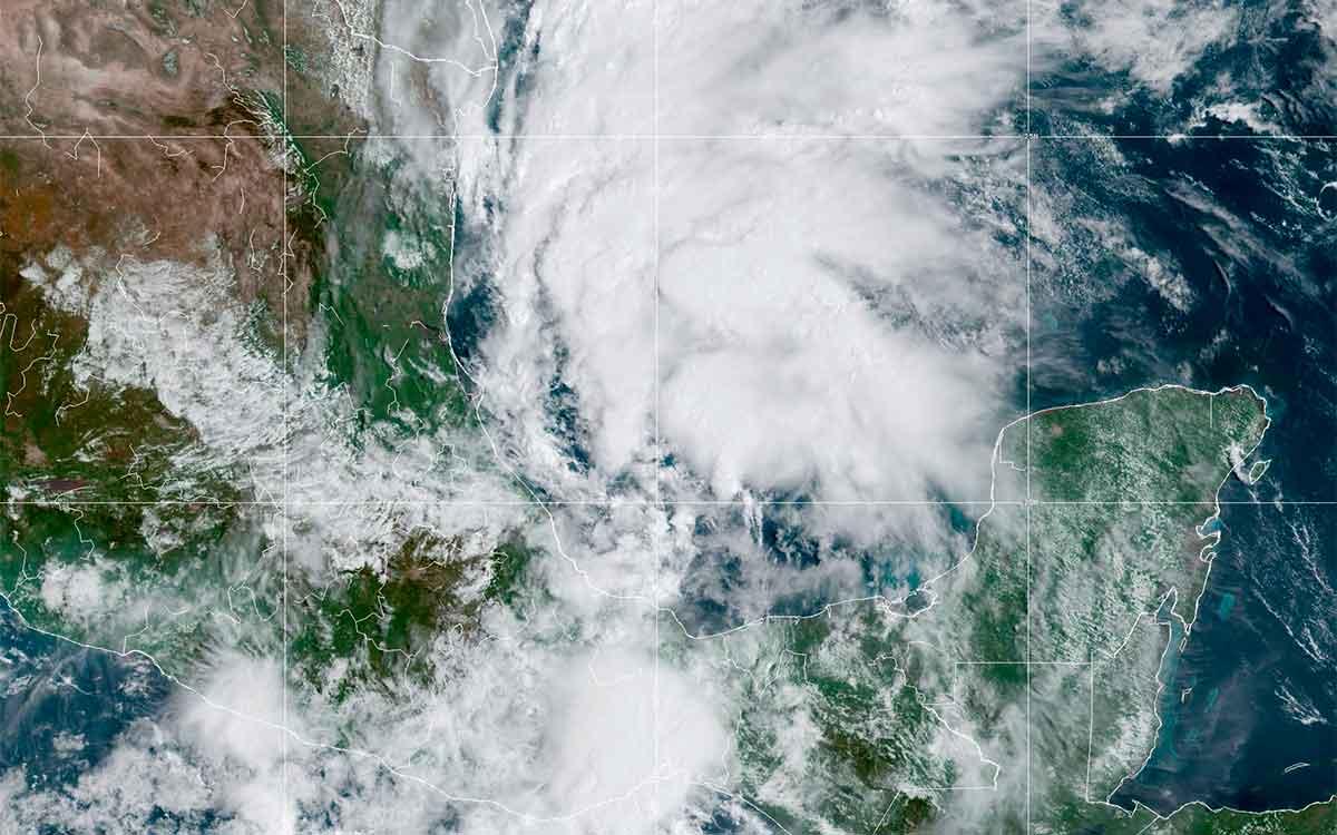 Alerta en Tamaulipas por tormenta Nicholas formada en el Golfo de México
