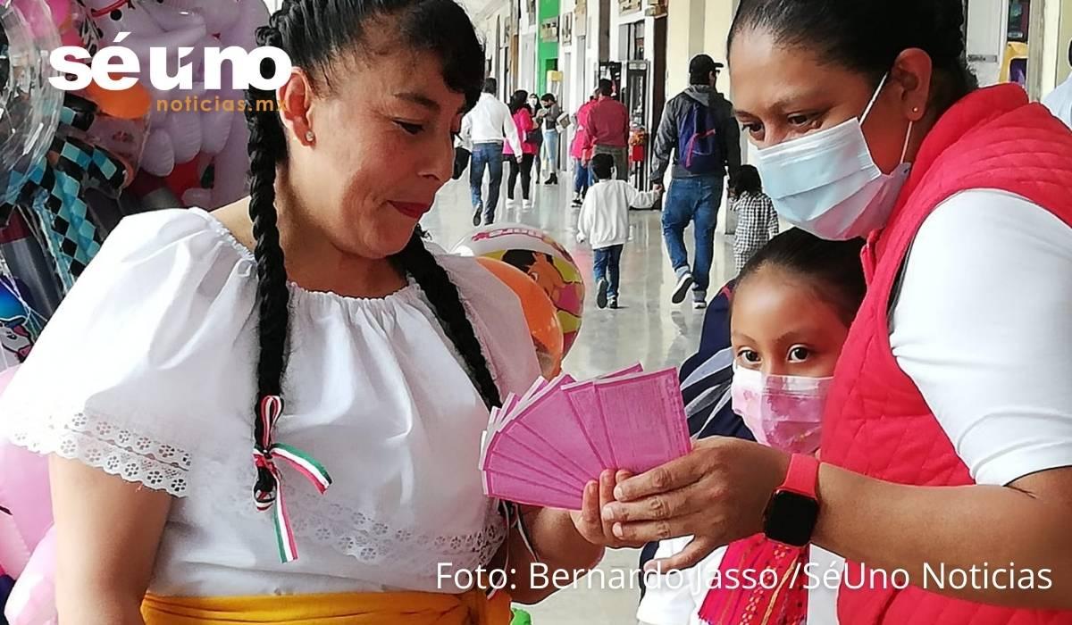 Éxito en Toluca, la venta de Cachitos para rifa de Palco del Estadio Azteca