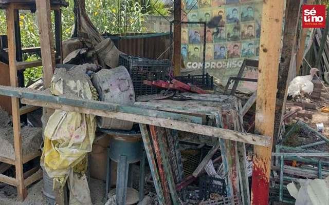 Explota taller clandestino de pirotecnia en Tultepec, Edomex