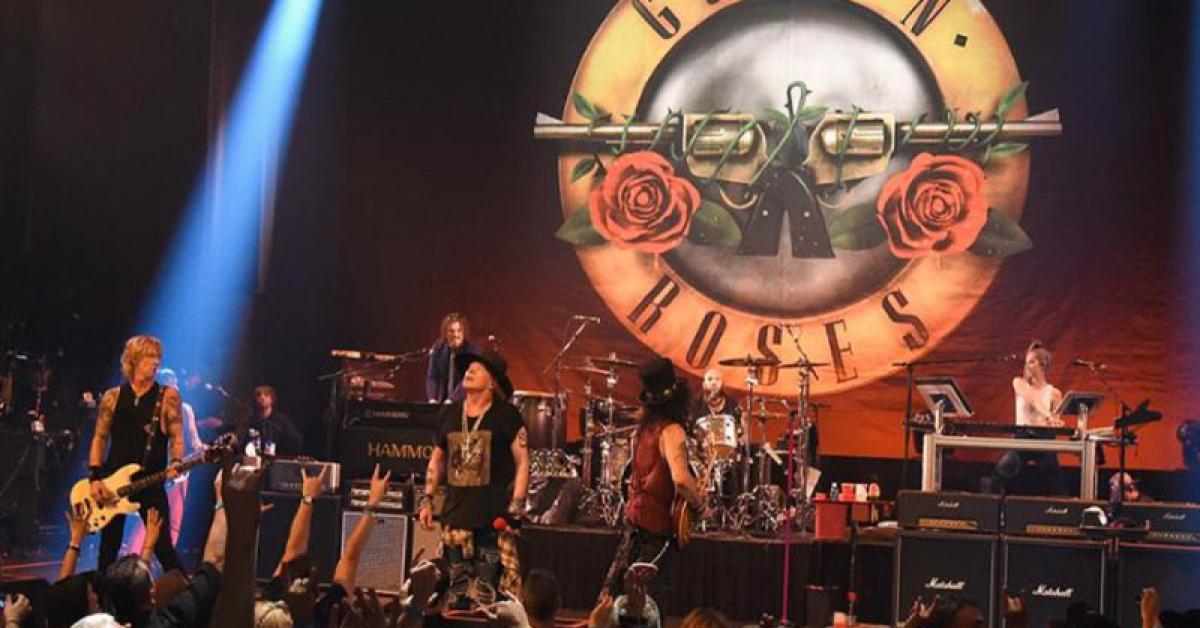 Guns N' Roses canceló su concierto en Monterrey y lo postergó para 2022