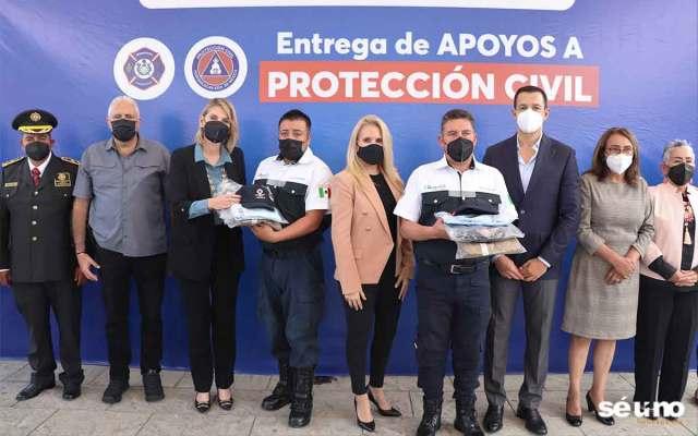 Huixquilucan apoya a los cuerpos de emergencia y Protección Civil