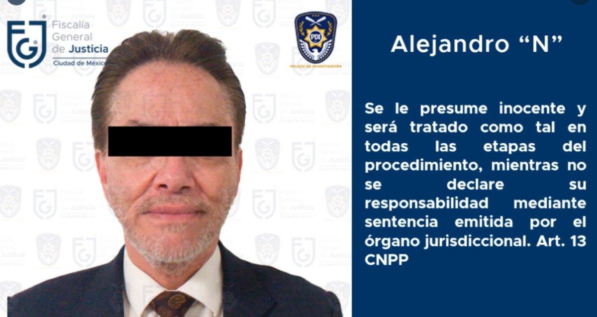 Alejandro del Valle, accionista principal de Interjet y socio de Miguel Alemán Magnani, fue detenido en Polanco
