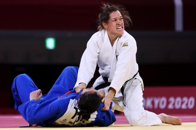 Lenia Ruvalcaba es una judoca mexicana que en el los Juegos Paralímpicos Tokio 2020 obtuvo el bronce en la categoría -70 kg yasegura que el COVID estuvo a punto de dejarla fuera de la competencia