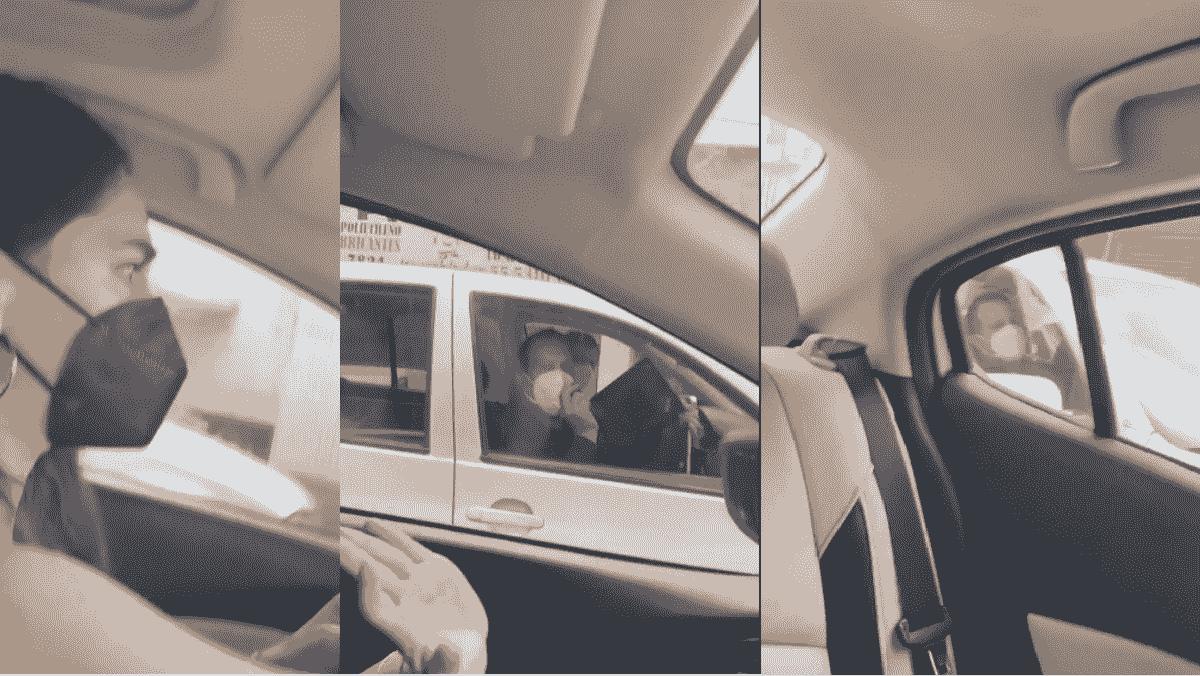 """Intentan bajar de su carro a mujer por supuesto """"reporte de robo"""" en Tlalnepantla"""