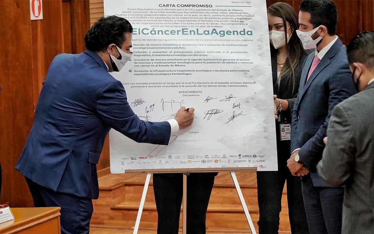 La lucha contra el cáncer no es de partidos políticos: Enrique Vargas
