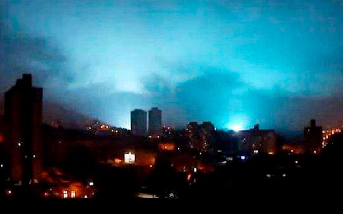 ¿Qué son las luces que se vieron en el cielo durante el sismo de México?