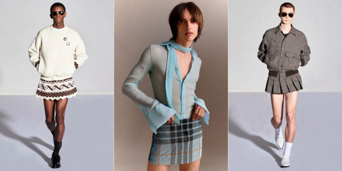 Faldas masculinas la tendencia para este 2021