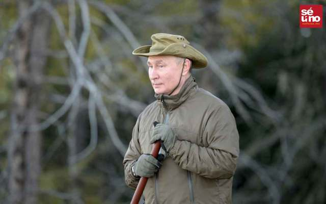 Vladimir Putin viajó a Siberia antes de ponerse en aislamiento