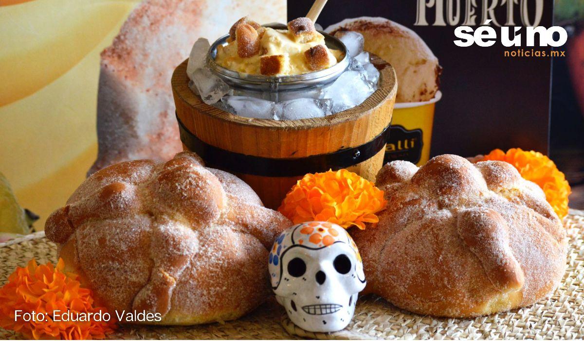 """Ya hay nieve de """"Pan de muerto"""" en Metepec"""