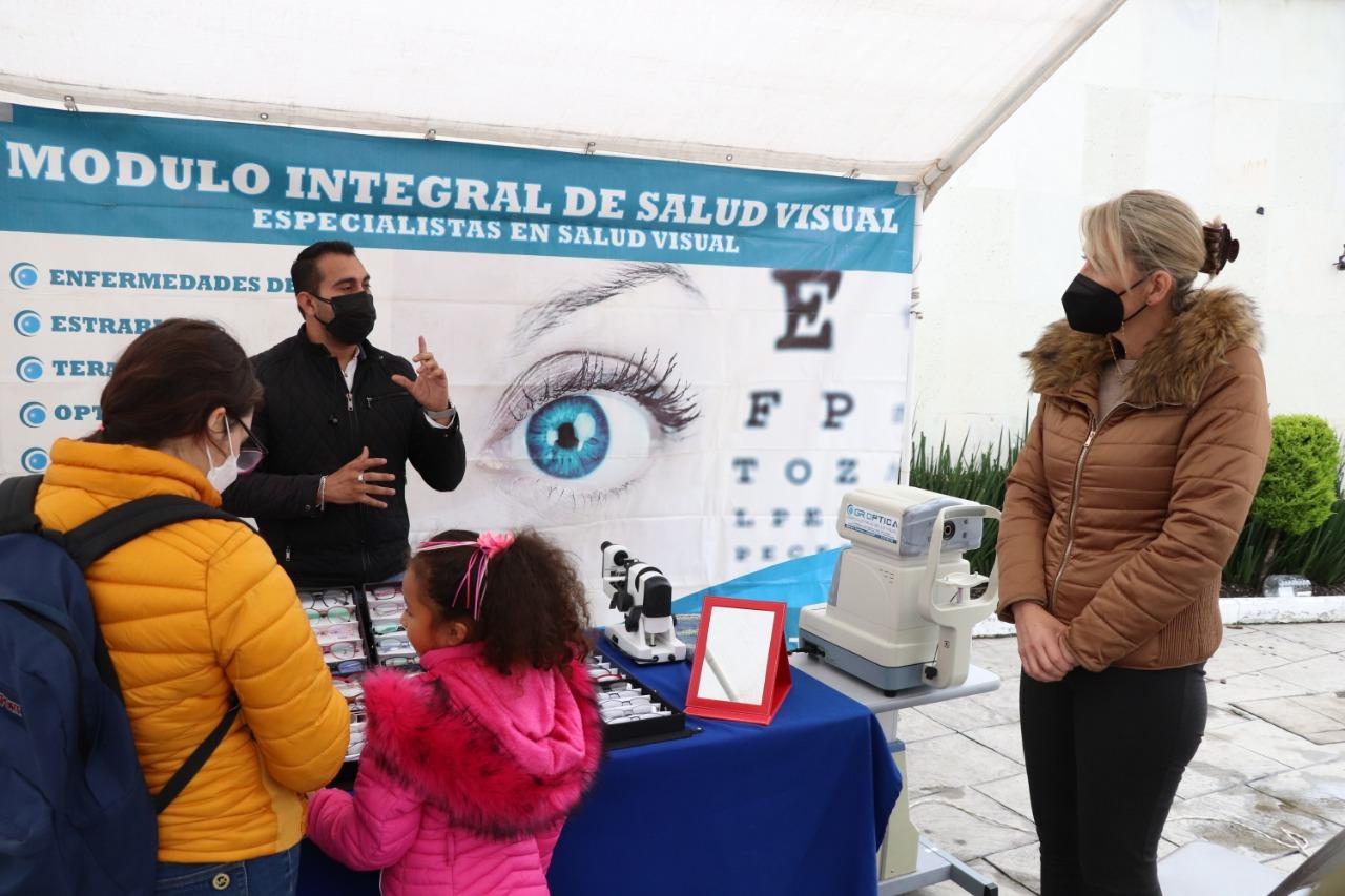 Realiza Huixquilucan campaña de salud visual para apoyar el desarrollo de estudiantes en las aulas