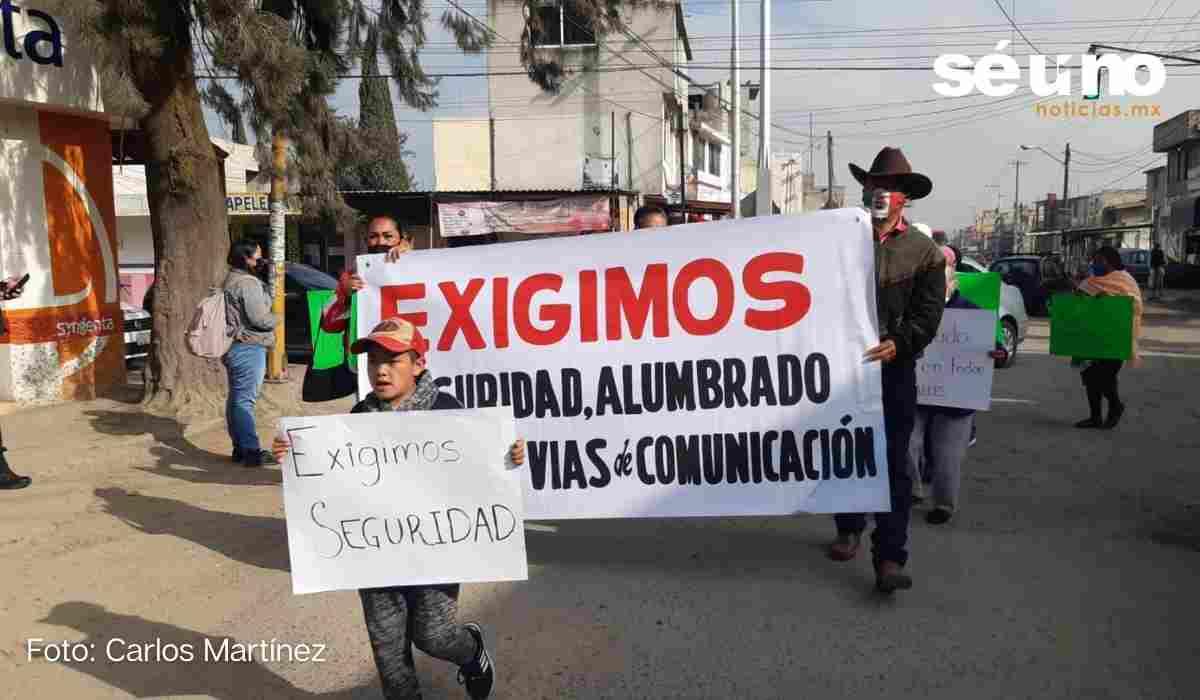 Habitantes de Toluca exigen seguridad en sus colonias