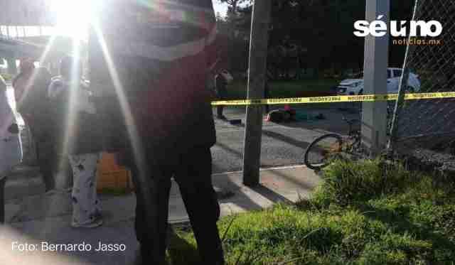 Ciclista muere atropellado en Toluca