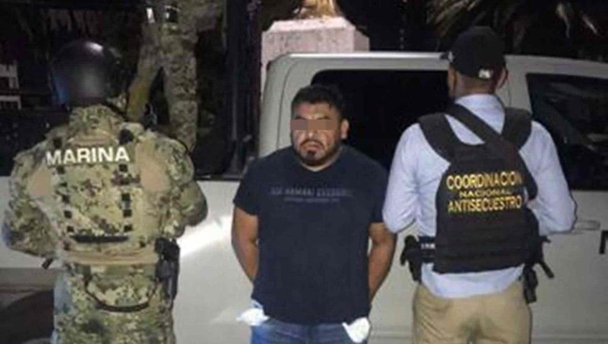 """Capturan a """"El Rex"""", líder huachicolero en Querétaro"""
