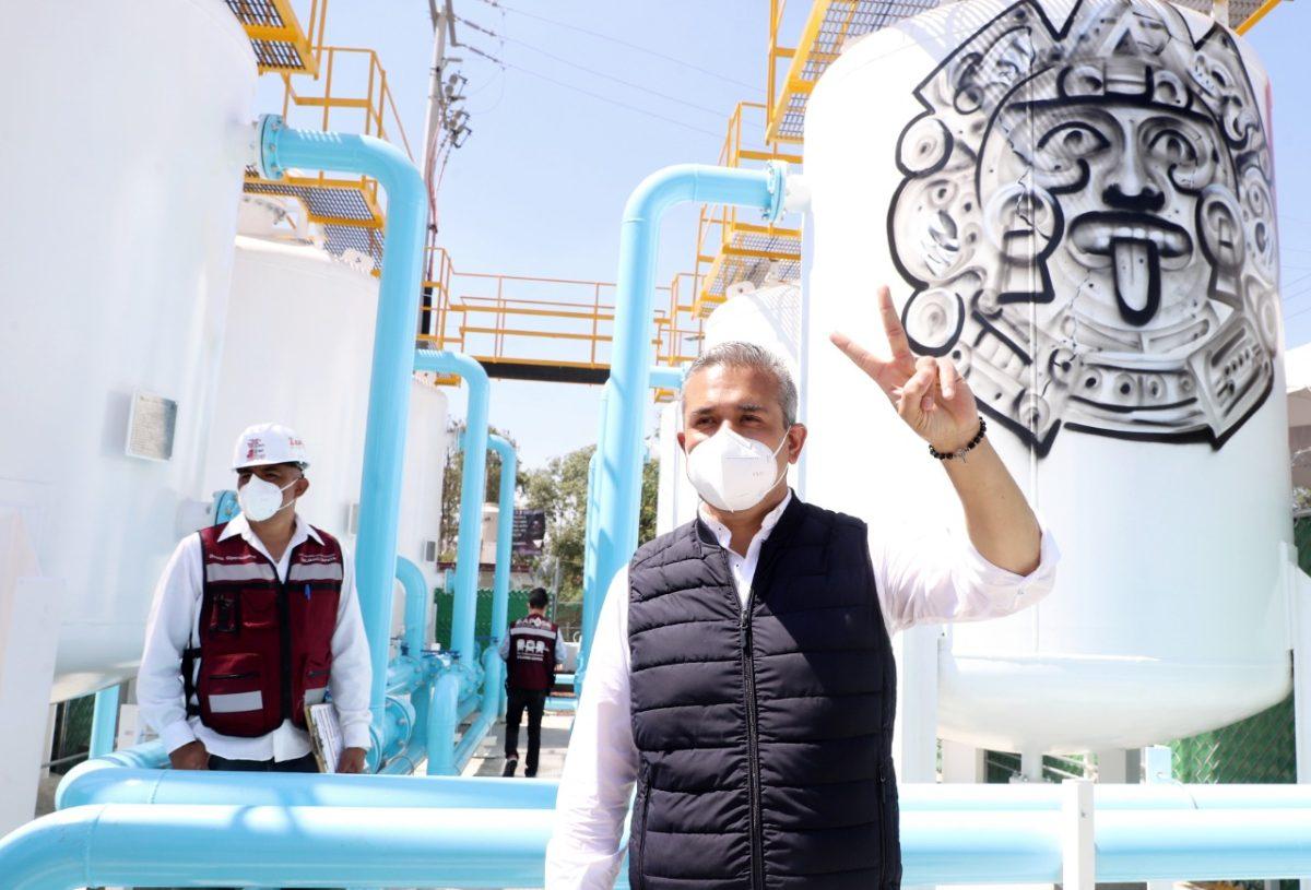 Inauguran primer pozo y planta potabilizadora de agua en Ecatepec